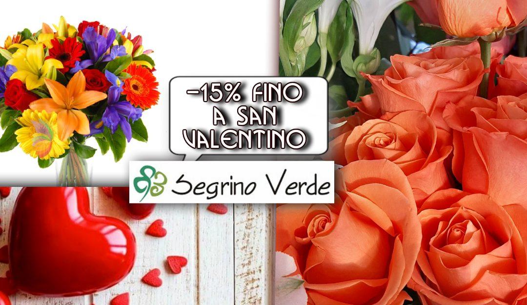 Acquista i tuoi Fiori fino a San Valentino con un Bonus Speciale
