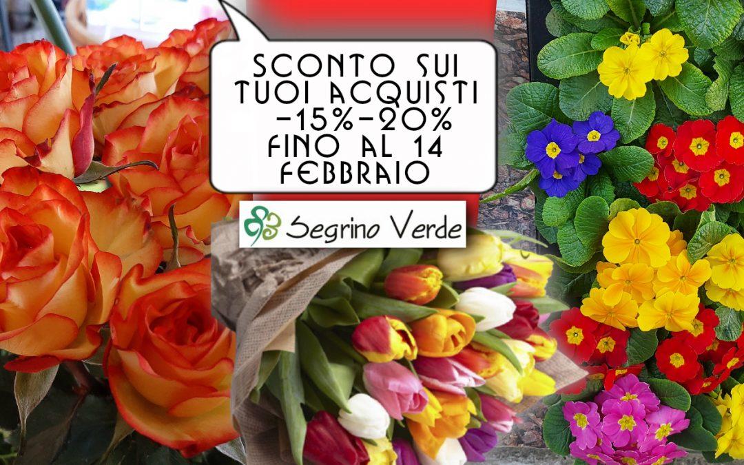 Special Promo: -15%-20% fino a San Valentino